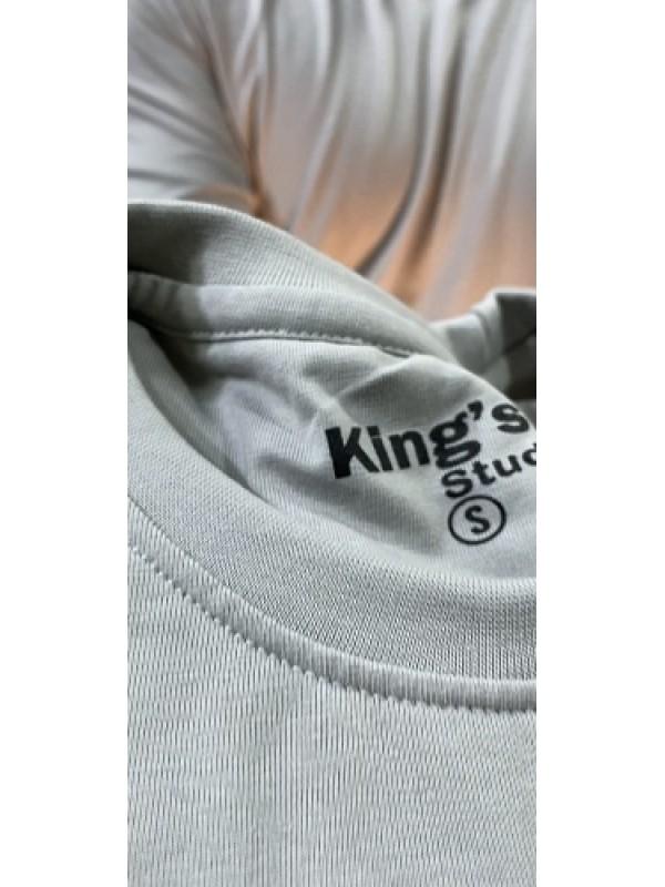 Basic Cotton Grey FullSleeve Tshirt