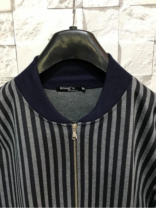 Bomber Jacket Blue Stripe