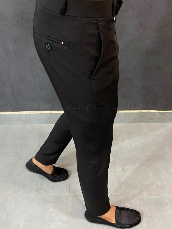 Ankle Formal Black Trouser