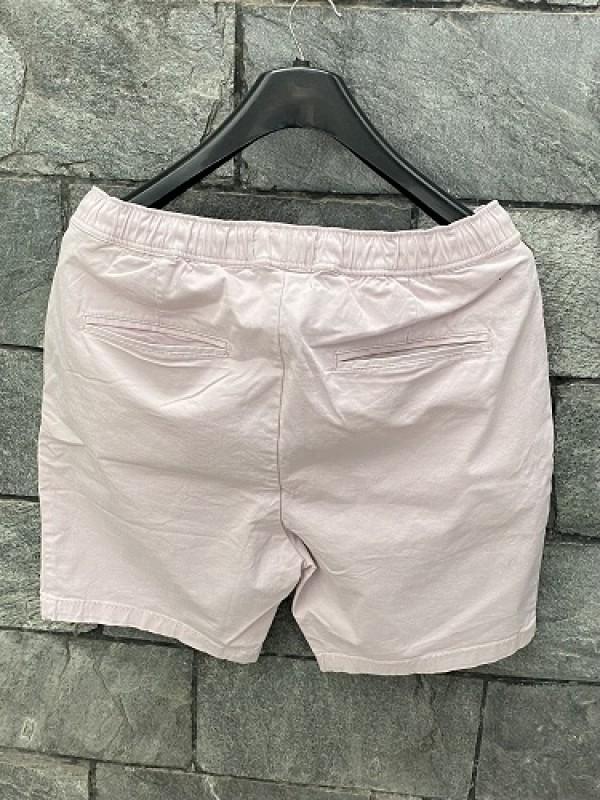 Elastic Waist Cotton Rose Short